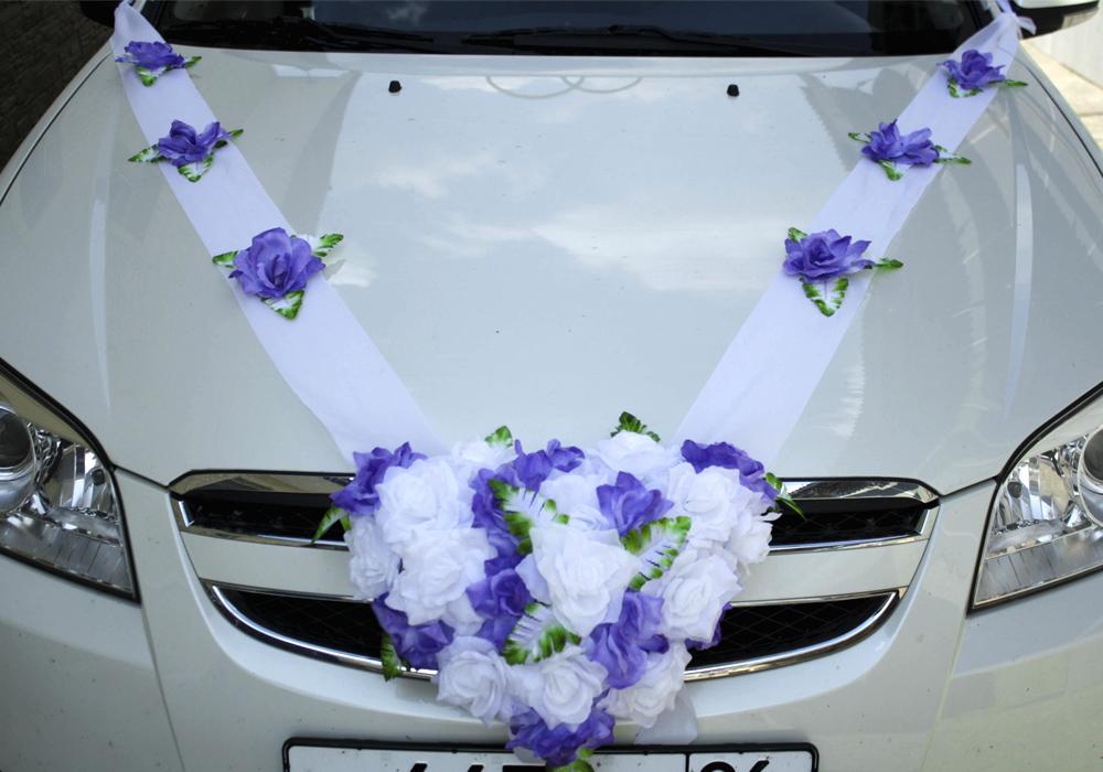 Украшение на радиатор машины на свадьбу своими руками